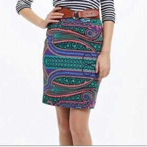 Anthropologie Plenty by Tracy Reese Paisley Skirt